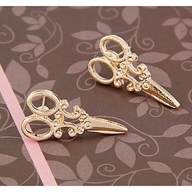 Pentru femei Cercei Stud - Argintiu Auriu cercei Pentru Nuntă Petrecere Zilnic