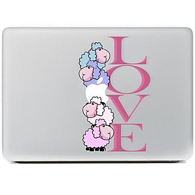 σχεδίαση αγάπη διακοσμητικό αυτοκόλλητο δέρμα για MacBook Air / Pro / Pro με οθόνη Retina