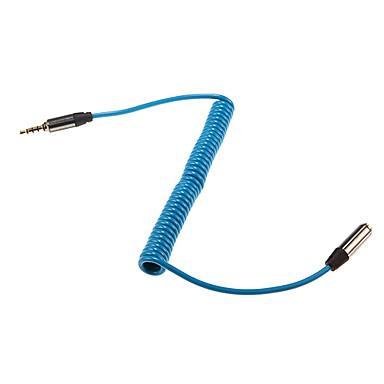 1m 3.28ft stereo audio 3,5 mm male naar 3,5 mm audio vrouwelijke extense kabel