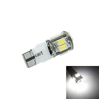 T10 자동차 신호 빛 5w 11x5630smd 400-550lm 6000-6500k 화이트 2 모드를 주도 (dc12-16v)