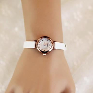 Pentru femei Ceas Elegant Ceas La Modă Quartz Piele Bandă Vintage Alb Albastru Maro Pink Rose