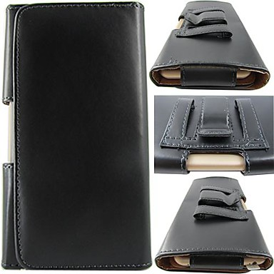 Недорогие Чехлы и кейсы для Galaxy Note 4-сплошной цвет PU кожаный чехол с делом талии клип всего тела для Samsung Galaxy Galaxy Note 4