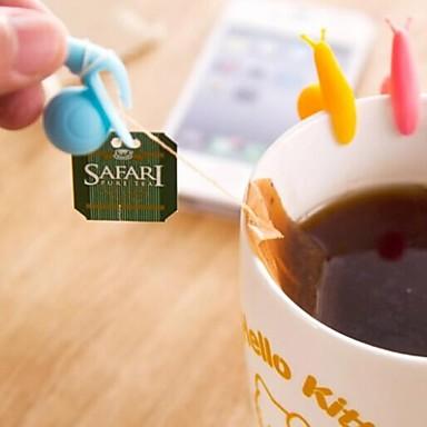 εργαλείο πολλαπλών λειτουργιών σαλιγκάρι σχήμα υλικό σιλικόνης τσάι (τυχαία το χρώμα / 1 τεμ)