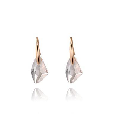 Druppel oorbellen Kristal Verguld Zilver Gouden Sieraden Voor Bruiloft Feest Dagelijks Causaal