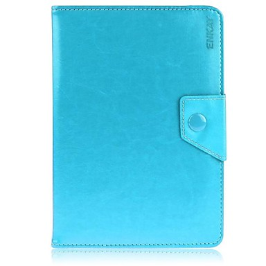 Case For Universal Full Body Cases Cases with Stand Full Body Cases Solid Color Hard PU Leather for