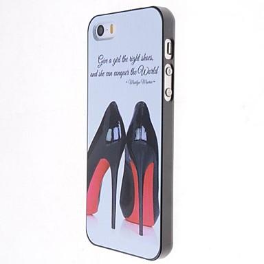 Για Θήκη iPhone 5 Θήκες Καλύμματα Παγωμένη Με σχέδια Πίσω Κάλυμμα tok Σέξι κυρία Σκληρή PC για iPhone SE/5s iPhone 5