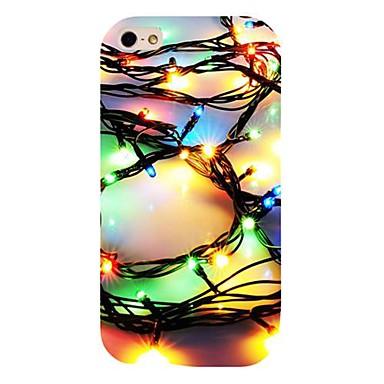 padrão de luz colorida de volta para o iPhone 4 / 4s