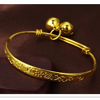 fijne korrel 24 k gold plating en armband voor kinderen
