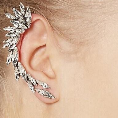 Γυναικεία Χειροπέδες Ear Μοντέρνα μινιμαλιστικό στυλ Ευρωπαϊκό Συνθετικοί πολύτιμοι λίθοι Ρητίνη Στρας Κράμα Κοσμήματα Ασημί Καθημερινά