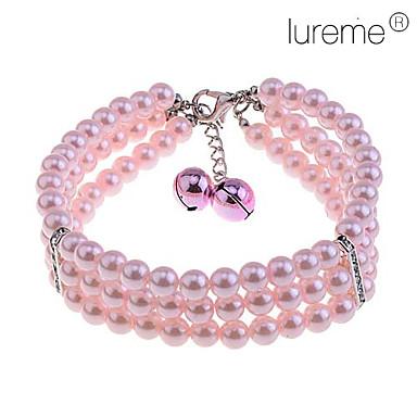 Dog Necklace Pink Spring/Fall Wedding