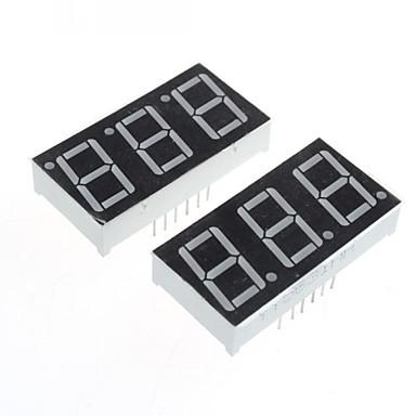 (arduino için) uyumlu 3 haneli 12-pin ekran modülü -. 0.56in (2 adet)