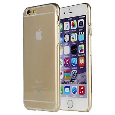 pomelo® preto caso de cor sólida transparente para iphone 6plus