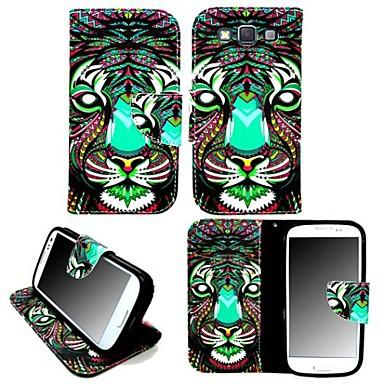 tok Για Samsung Galaxy Samsung Galaxy Θήκη Θήκη καρτών με βάση στήριξης Ανοιγόμενη Μαγνητική Με σχέδια Πλήρης Θήκη Ζώο PU δέρμα για A3