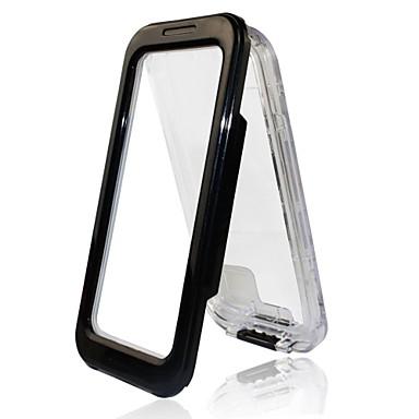 hoesje Voor Apple iPhone 5 hoesje Waterbestendig Transparant Volledig hoesje Effen Kleur Hard PC voor iPhone 7 Plus iPhone 7 iPhone SE/5s