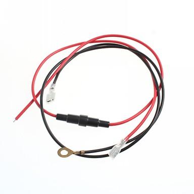 cabo para o isqueiro assento fio de conversão de carro / moto com cabo mais leve 20a fusível cigarro