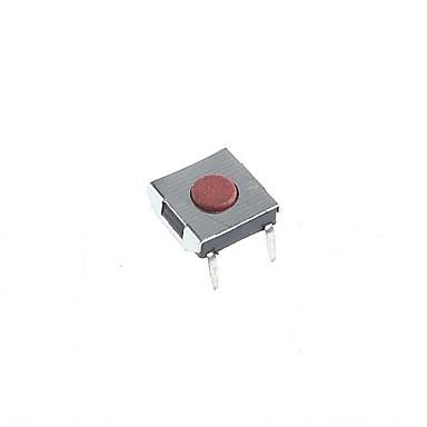 4-pin Τακτ διακόπτη αφής μπουτόν διακόπτης DIY 6x6x2.5mm (20pcs)