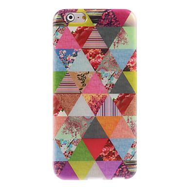 driehoek bloem ontwerp zachte hoes voor de iPhone 6