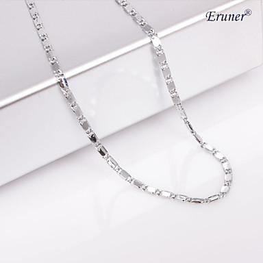 Mücevher Zincir Kolyeler Düğün / Parti / Günlük / Spor alaşım Kadın Gümüş Düğün Hediyeleri