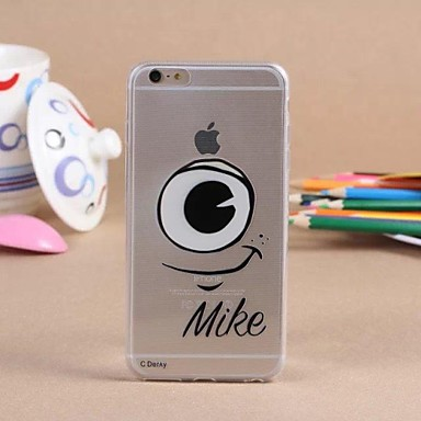 Voor iPhone 6 hoesje / iPhone 6 Plus hoesje Transparant hoesje Achterkantje hoesje Cartoon Zacht TPU iPhone 6s Plus/6 Plus / iPhone 6s/6