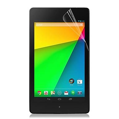 υψηλή διαφανές προστατευτικό οθόνης για Google Nexus 7 2013 2 Gen 2 γενιάς δισκίο προστατευτική μεμβράνη