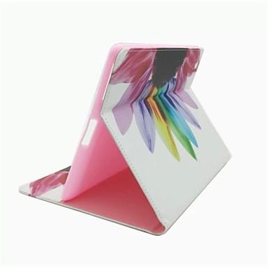 tok Για Μίνι iPad 3/2/1 Θήκη καρτών με βάση στήριξης Πλήρης Θήκη Λουλούδι PU δέρμα για iPad Mini 3/2/1