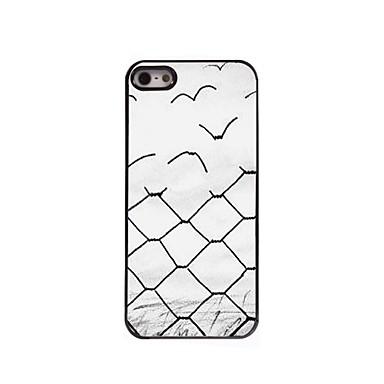 Voor iPhone 5 hoesje Hoesje cover Patroon Achterkantje hoesje Geometrisch patroon Hard PC voor iPhone SE/5s iPhone 5