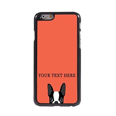 gepersonaliseerde telefoon case - hond ontwerp metalen behuizing voor de iPhone 6 plus