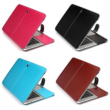 MacBook Hoes voor Effen PU-nahka MacBook Air 13