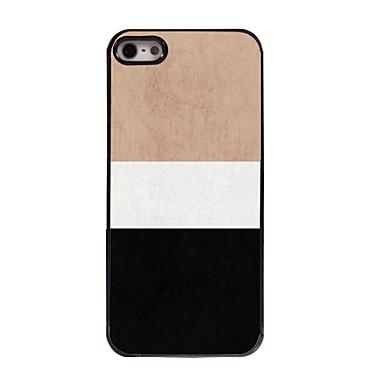 Capinha Para iPhone 5 Apple Capinha iPhone 5 Estampada Capa traseira Linhas / Ondas Rígida PC para iPhone SE/5s iPhone 5