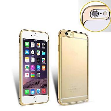 Voor iPhone 6 hoesje / iPhone 6 Plus hoesje Beplating / Ultradun hoesje Bumper hoesje Effen kleur Hard MetaaliPhone 6s Plus/6 Plus /