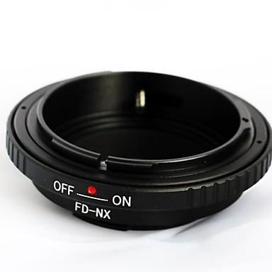 lente fd para Samsung nx adaptador de montagem NX5 NX10 NX11 NX100 NX200 NX300 NX1000