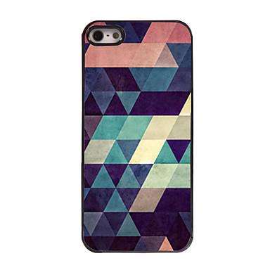 Hülle Für iPhone 5 / Apple iPhone 8 / iPhone 8 Plus / iPhone 5 Hülle Muster Rückseite Geometrische Muster Hart PC für iPhone 8 Plus / iPhone 8 / iPhone SE / 5s
