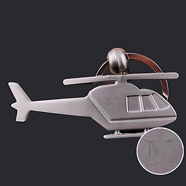 Personalizate gravate cadou Creative elicopter formă de breloc