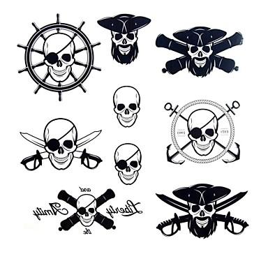 Tatoeagestickers Overige Waterproof Dames Heren Volwassene Tiener Tijdelijke tatoeage Tijdelijke tatoeages