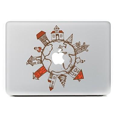 1 parça Çıkartma için Çizilmeye Dayanıklı Karton Tema MacBook Air 13''