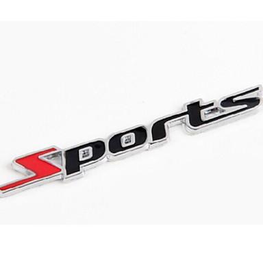 Araba Yapıştırıcıları Sporlar Tam Araba Çıkartmaları Metin / Numara Çıkartmalar