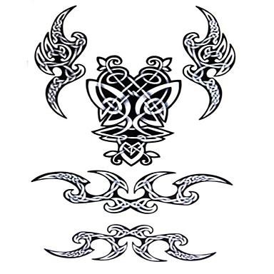 Tatuagens Adesivas Outros Á Prova d'água Feminino Girl Masculino Adulto Menino Adolescente Tatuagem Adesiva Tatuagens temporárias