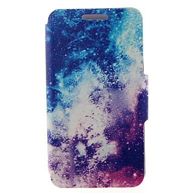 Para Samsung Galaxy Capinhas Porta-Cartão / Com Suporte / Flip / Estampada / Magnética Capinha Corpo Inteiro Capinha Cenário Couro PU