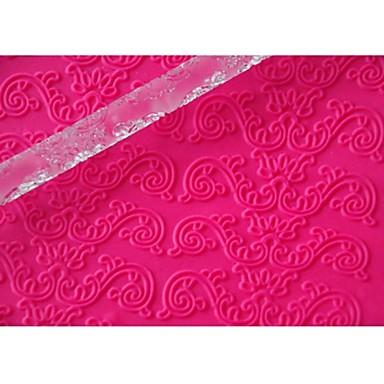 Four-C εργαλεία μπισκότο ανάγλυφη πλάστη για το χρώμα του σχεδιασμού ζάχαρη διαφανή, 1pcs