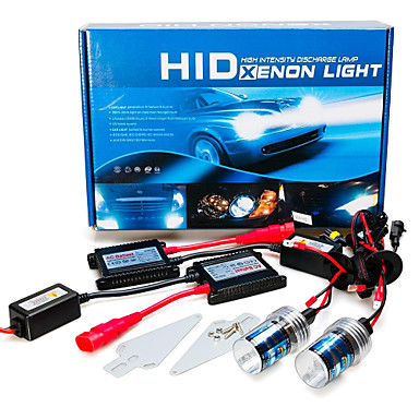 2pcs H7 Mașină Becuri 55W 3200lm HID Xenon Frontală For Zid mare / BMW / Ford