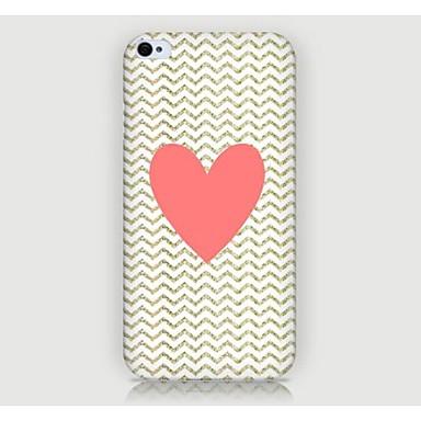 Iphone 4/4S/Iphone 4 - Achterkantje - Grafisch/Speciaal ontwerp/Noviteit (Multi-kleur , Kunststof)