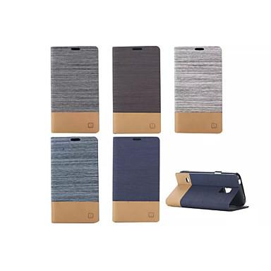 Para Samsung Galaxy Capinhas Porta-Cartão / Com Suporte / Flip / Magnética Capinha Corpo Inteiro Capinha Estampa Geométrica Couro PU