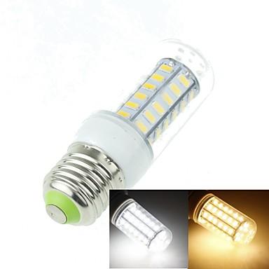 SENCART 3000-3500/6000-6500 lm E26/E27 LED-maïslampen T 48 leds SMD 5630 Decoratief Warm wit Koel wit AC 100-240V