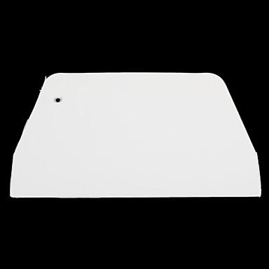 ψήσιμο τροφίμων βαθμού τραπεζοειδή εργαλείο λευκή πλαστική σπάτουλα (μέτρια)