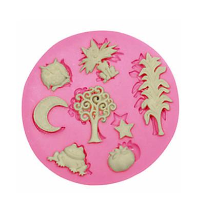 χαριτωμένο ζώο εργοστάσιο τούρτα μούχλα σιλικόνης μούχλα διακόσμηση σιλικόνης για φοντάν χειροτεχνία κοσμήματα καραμέλα PMC πηλό ρητίνη