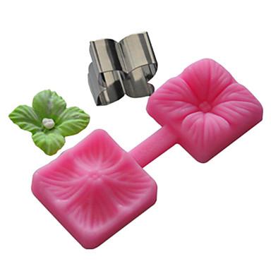 ferramentas de artesanato açucarado florante e pasta de goma molde molde de bolo, ferramenta de cozimento