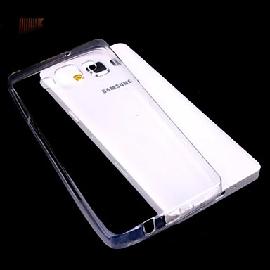 effen kleur transparante ultra-dunne TPU voor Samsung Galaxy a3
