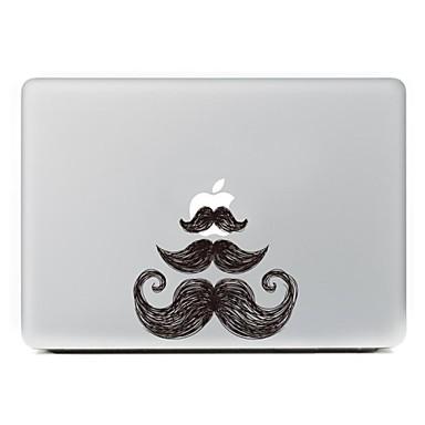 de baard ontwerp decoratieve huid sticker voor macbook air / pro / pro met retina-display