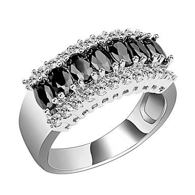 Dames Bandringen Kostuum juwelen Zirkonia Kubieke Zirkonia Juweeltje Sieraden Voor Bruiloft Feest Dagelijks Causaal Sport