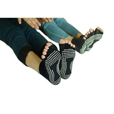 Kadın's Bilekten Çoraplar Giyilebilir, Nefes Alabilir, Anti-kayma Uyumluluk Yoga / Bale / Pilates - 1 çift Pamuklu Bahar / Yaz / Sonbahar / Streç